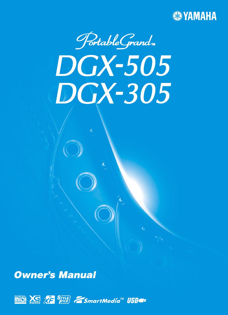 Yamaha dgx 305 6
